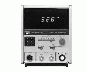 HP/AGILENT 8900D/H01 PEAK POWER METER, 100 MHZ-18 GHZ, DIGITAL READOUT